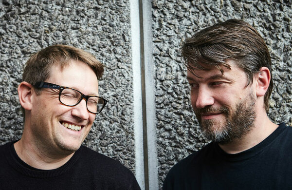 Sound designers Ben and Max Ringham win theatre category at h100 Awards 2019