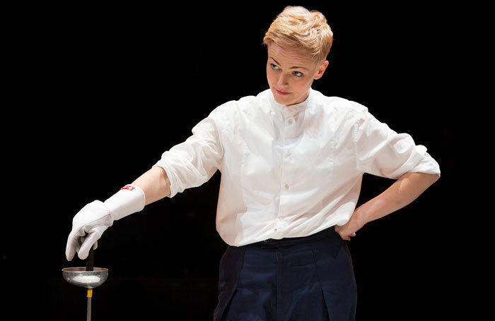 Maxine Peake in Hamlet. Photo: Jonathan Keenan