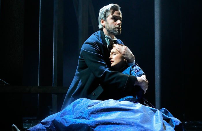 Harry Long and Claire Dargo in North and South at Pitlochry Festival Theatre. Photo: Douglas McBride
