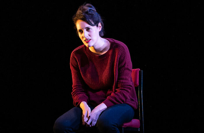 Phoebe Waller-Bridge in Fleabag at Wyndham's Theatre. Photo: Matt Humphrey