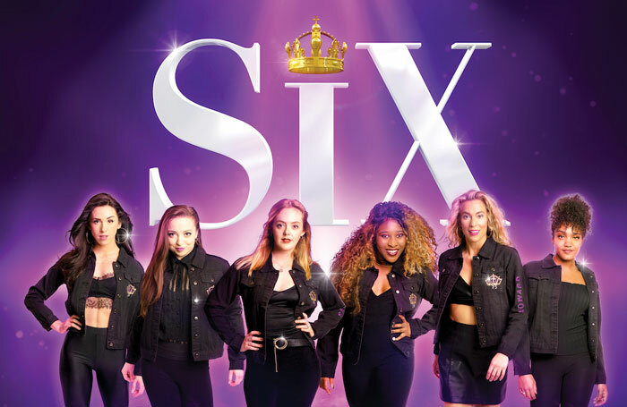 The touring cast of Six