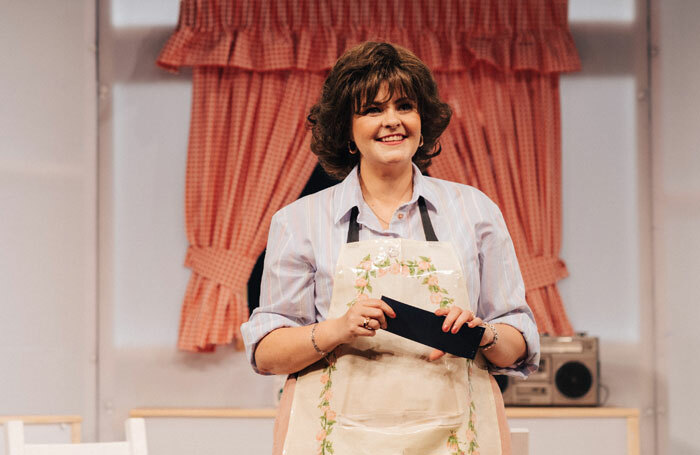 Tara Lynne O'Neill in Shirley Valentine at the Lyric Theatre, Belfast. Photo: Johnny Frazer