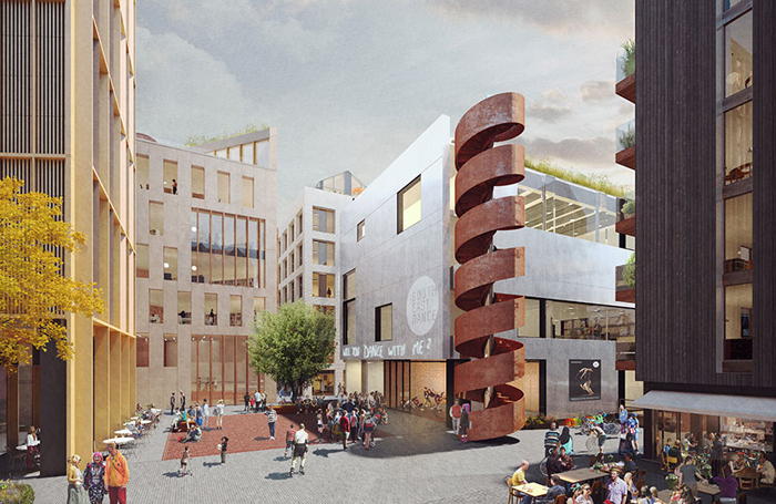 Architect's impression of the Dance Space in Brighton. Photo: Shedkm