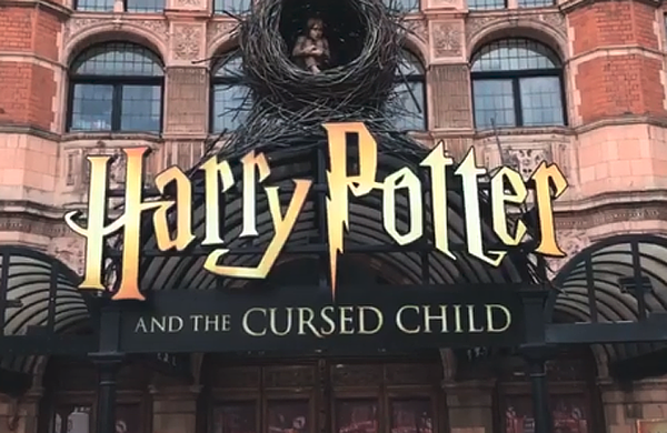 Harry Potter and the Cursed Child introduces new branding to match film franchise