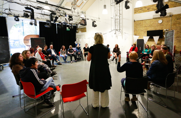 Graeae will run a career-development programme for D/deaf and disabled practitioners. Photo: Becky Bailey