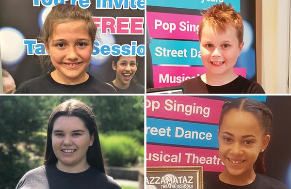 Razzamataz Theatre Schools and The Stage Scholarship winners 2019