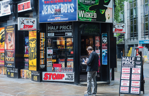 Richard Howle: Theatre ticket sales predict the financial weather – and it looks stormy