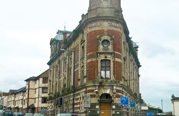 Palace Theatre in Swansea hit by suspected arson attack
