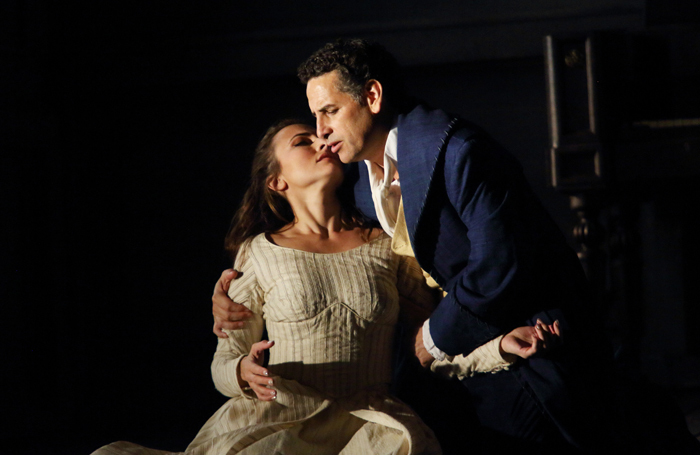Isabel Leonard and Juan Diego Flórez in Werther at the Royal Opera House, London. Photo: Catherine Ashmore