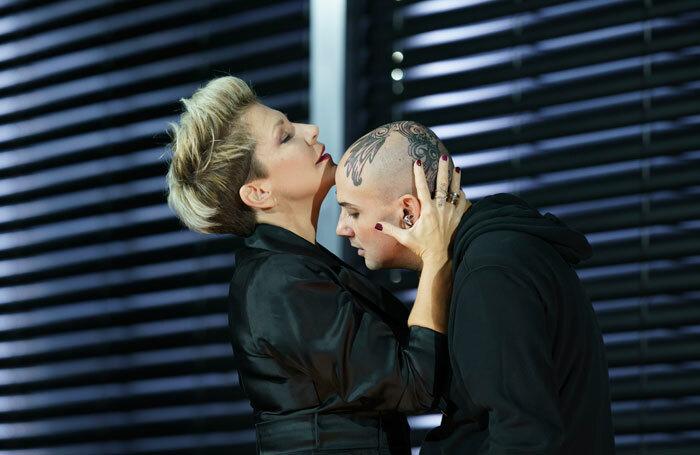 Joyce DiDonato and Franco Fagioli in Agrippina at the Royal Opera House, London. Photo: Bill Cooper