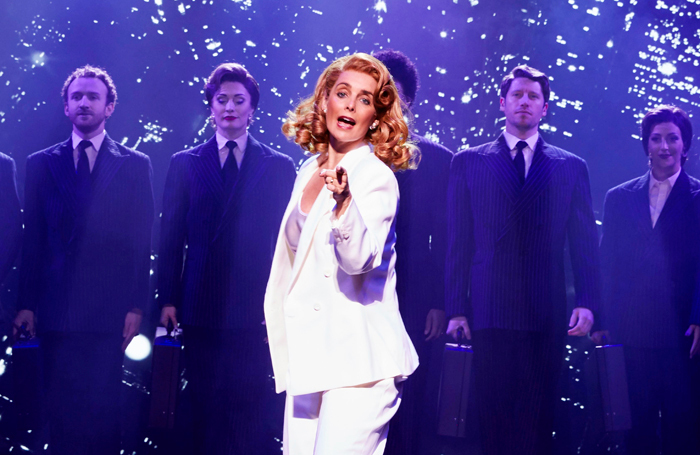 Louise Redknapp in 9 to 5 the Musical. Photo: Simon Turtle