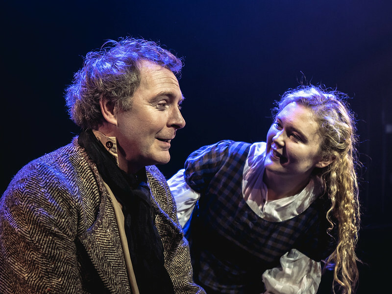 Ross Muir and Evangeline Duncan in Silas Marner at the Connaught Theatre. Photo: Christopher Phillips