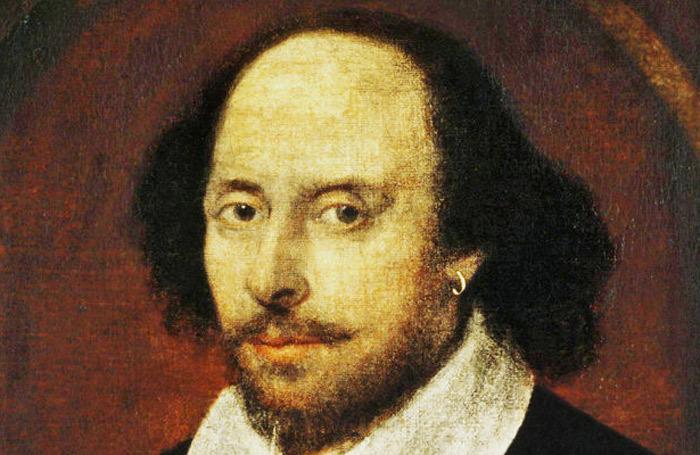 John Taylor's portrait of William Shakespeare