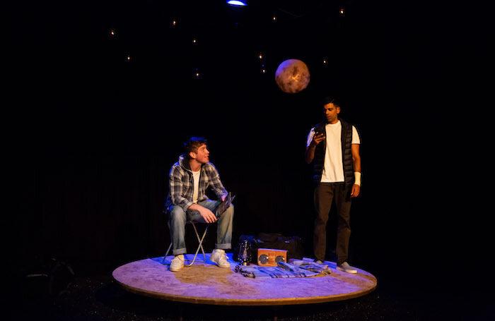 Kyle Rowe and Darren Kuppan in Under Three Moons. Photo: Alex Mead @ Decoy Media