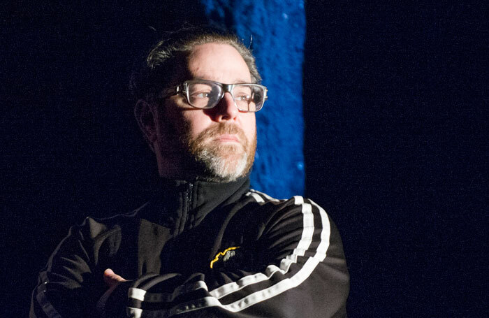 Andy Nyman in Ghost Stories (2016), the hit horror show he penned with Jeremy Dyson and which returns to the West End this week (October 3, 2019). Photo: Tristram Kenton