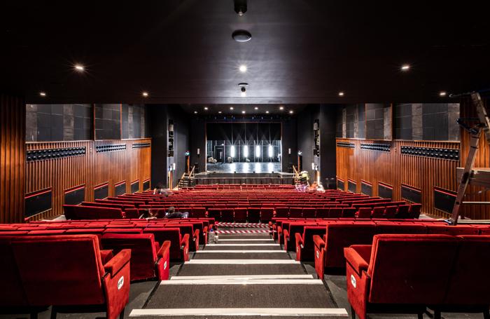 The Ashcoft Playhouse inside the new Fairfield Halls. Photo: Croydon Council