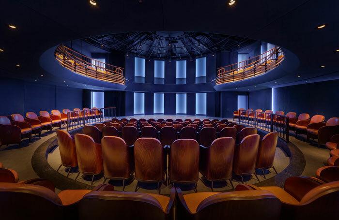 Boulevard Theatre's auditorium. Photo: Tom Lee