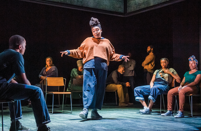 """Debbie Tucker Green's Ear for Eye is one of the plays by a woman that """"speak to the nation"""" according to Whyman. Photo: Tristram Kenton"""