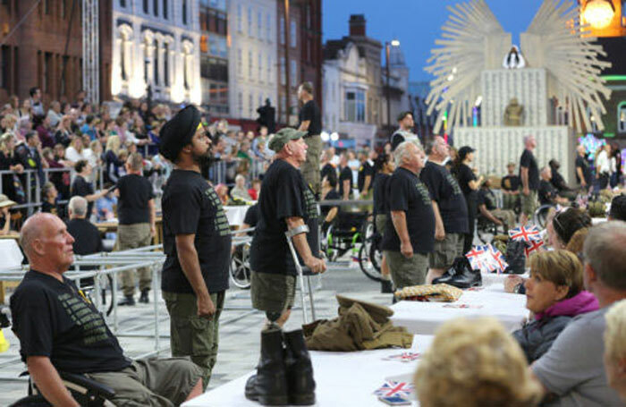 Graeae Theatre Company works with D/deaf and disabled artists. Photo: Dawn McNamara
