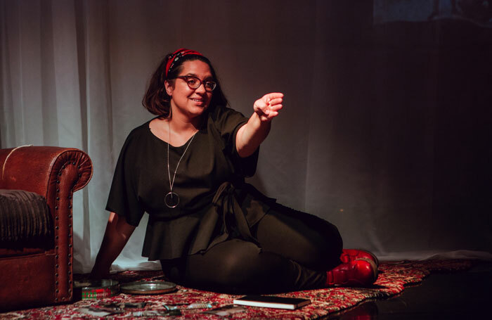 Hannah Lavery in The Drift at Lemon Tree, Aberdeen. Photo: Beth Chalmers