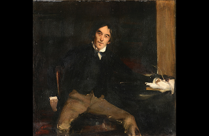 Portrait of Henry Irving. Photo: Dreweatts