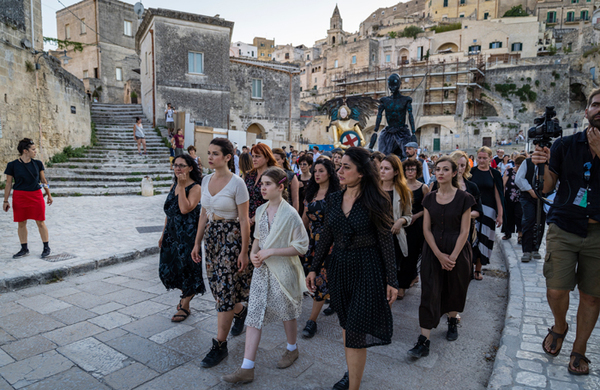 Matera, Italy: Rising from poverty to become a playground for artists