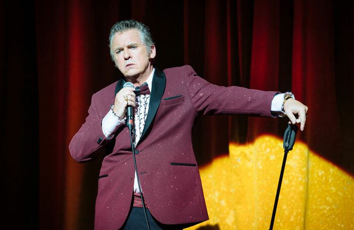 Shane Richie in The Entertainer. Photo: Helen Murray