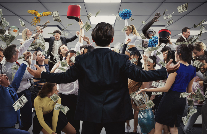 The Wolf of Wall Street – London immersive production