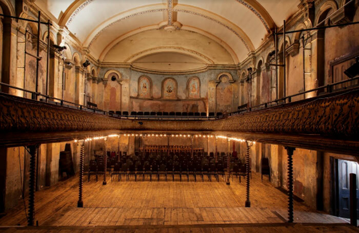 Wilton's Music Hall is one of the venues featured in  London's Great Theatres by Simon Callow and Derry Moore. Photo: Derry Moore