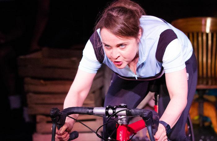 Vicky Binns in Beryl at Library Theatre, Bolton Museum. Photo: Jonathan Keenan