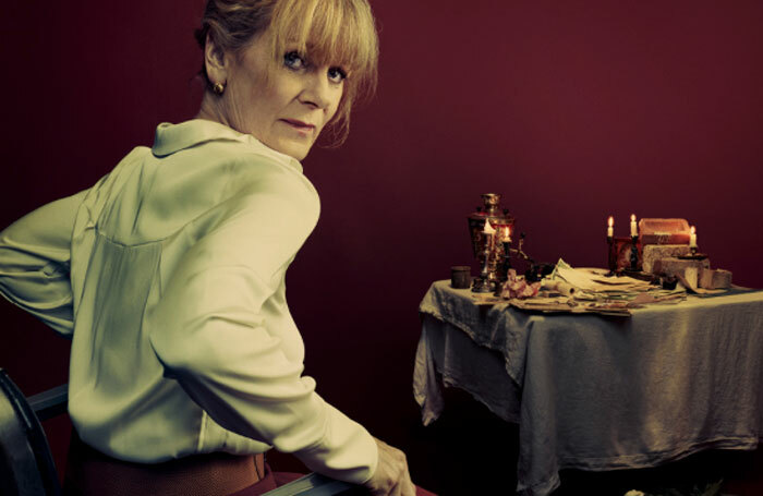 Samantha Bond has had to pull out of Vassa at the Almeida Theatre.
