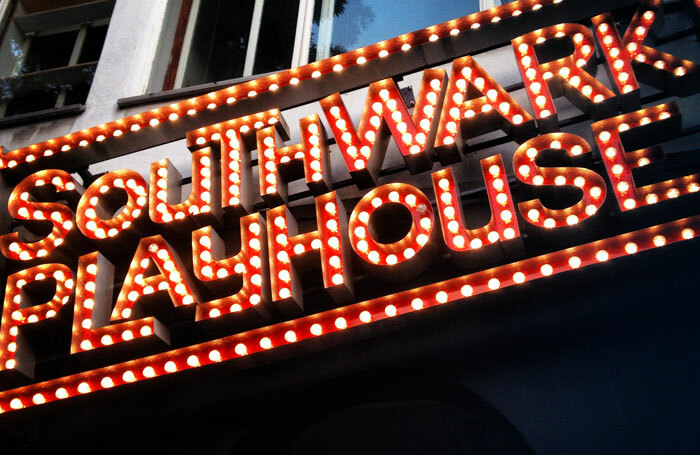 Southwark Playhouse had to cancel a performance of Preludes due to rain