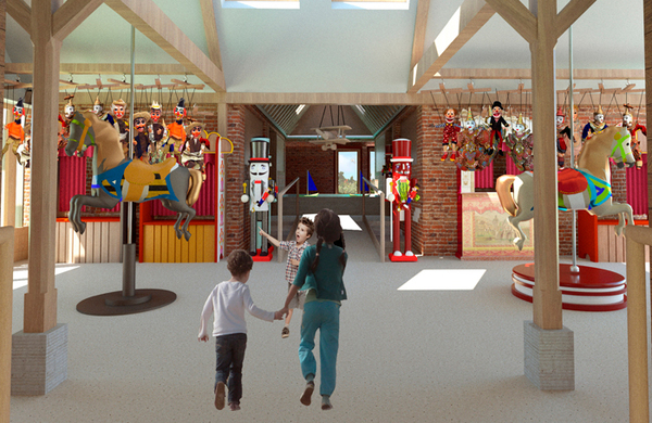 Oscar award-winning costume designer plans to build children's museum and puppet theatre