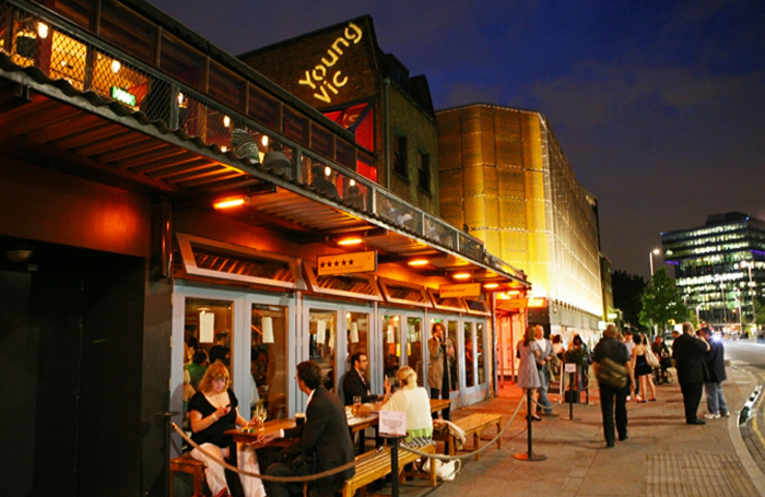 Catherine Kodicek says she is shortly to leave London's Young Vic, but it has been a 'supportive institution with a mission to do the best possible work with the best possible people'