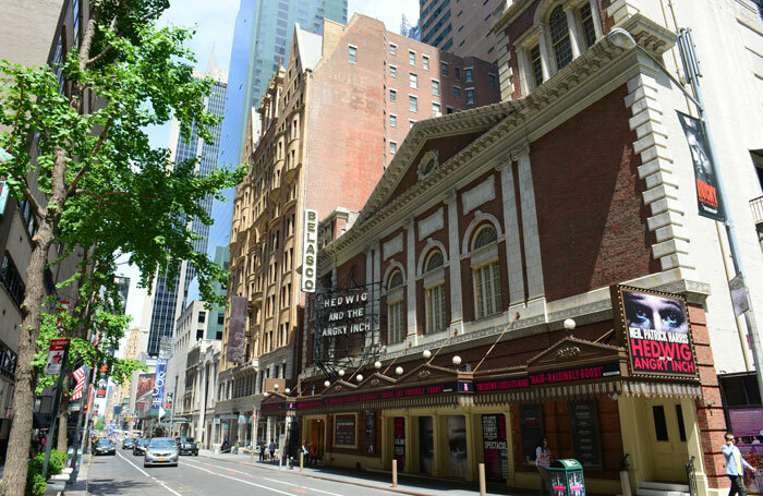 Broadway's Belasco Theatre is set to become a cinema for four weeks, screening the Netflix-backed Martin Scorsese film The Irishman. Photo: Shutterstock