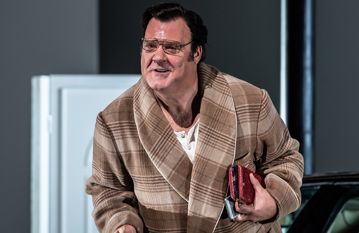 Bryn Terfel in Don Pasquale  at Royal Opera House, London. Photo: Clive Barda
