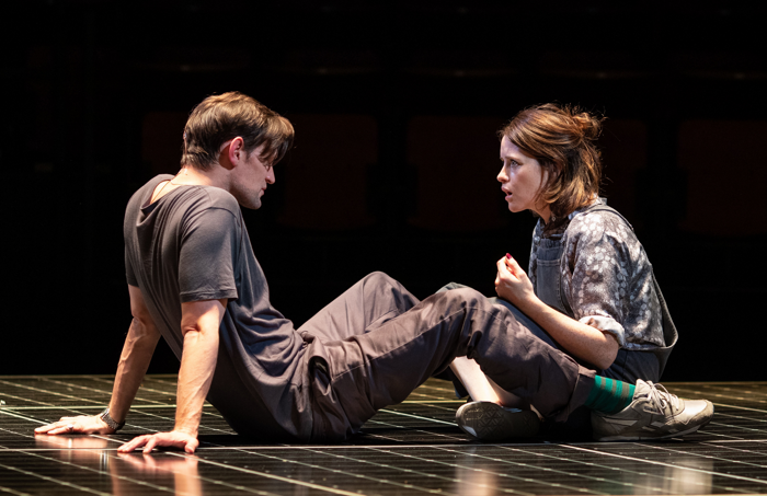 Matt Smith and Claire Foy in Lungs at Old Vic, London. Photo: Helen Maybanks