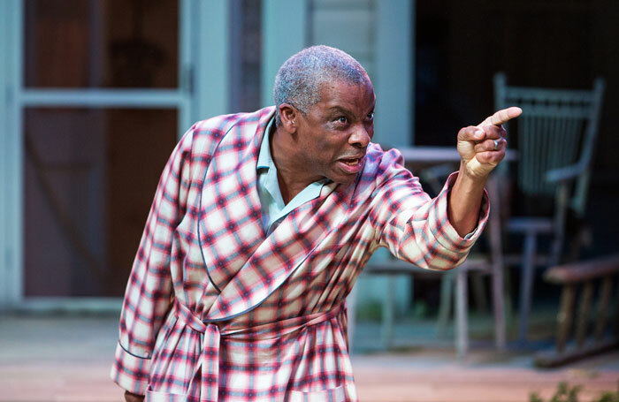 Don Warrington in All My Sons at the Royal Exchange Theatre in 2013. Photo: Jonathan Keenan