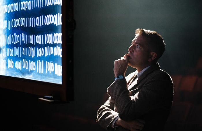 Edward Bennett in Breaking the Code at Salisbury Playhouse. Photo: Helen Murray