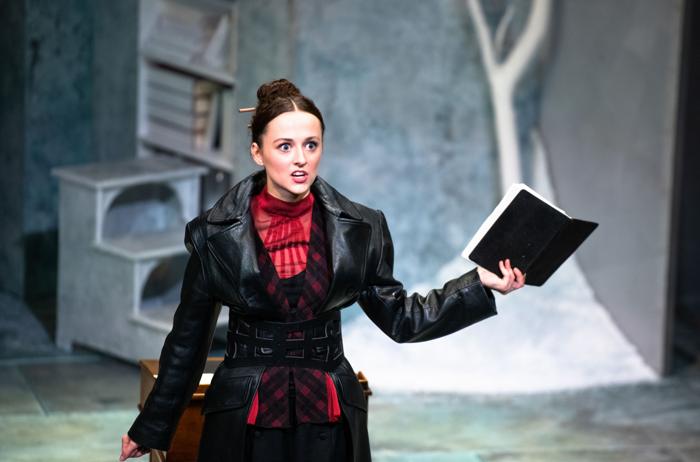 Eilidh Loan in Frankenstein at Theatre Royal Brighton. Photo: Tommy Ga Ken Wan