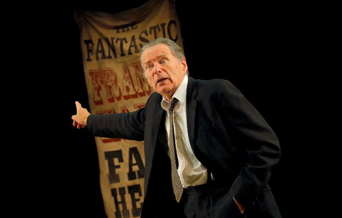 George Costigan in Faith Healer at Pitlochry Festival Theatre. Photo: Douglas McBride