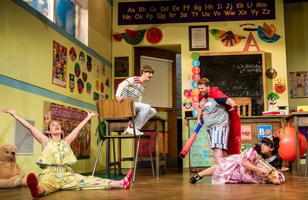Mischief Theatre's Groan Ups at the Vaudeville Theatre, London – review round-up