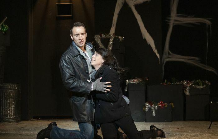 Scene from La Boheme at Grand Theatre, Leeds