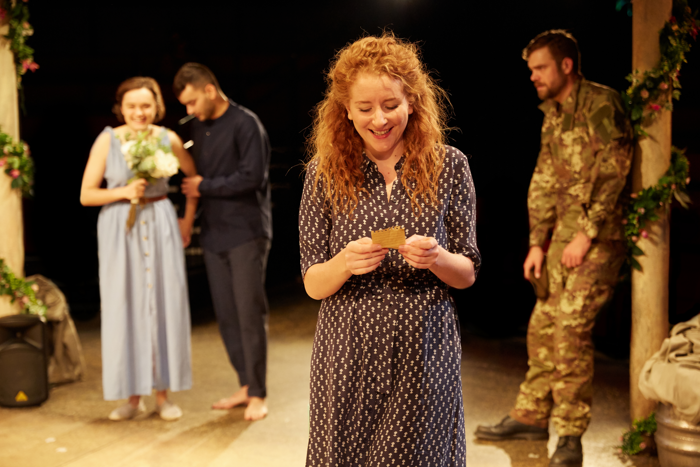 Dorothea Myer-Bennett in Much Ado About Nothing at Tobacco Factory Theatres. Photo: Mark Douet