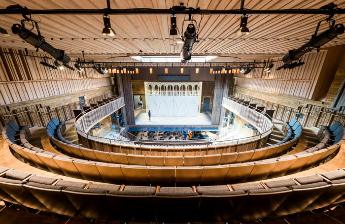 Nevill Holt Opera's new, Stirling Prize-winning theatre. Photo: Robert Workman
