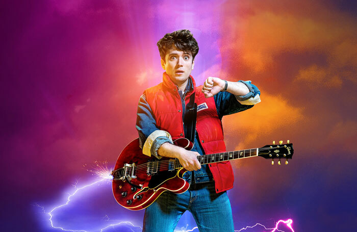 Olly Dobson as Marty McFly in Back to the Future the Musical
