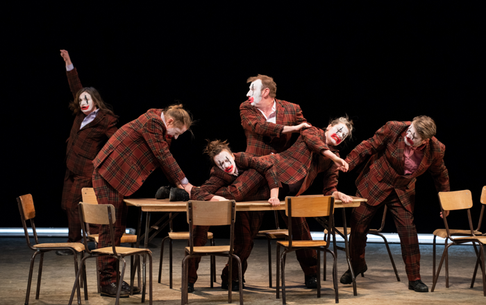 Forced Entertainment's Out of Order at Southbank Centre. Photo: Hugo Glendinning