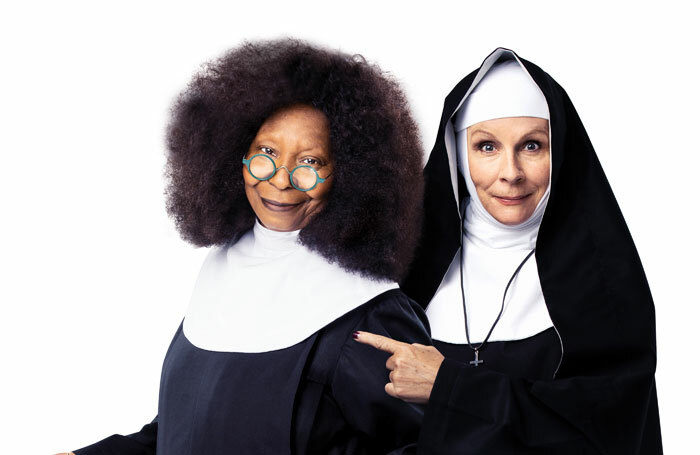 Whoopi Goldberg and Jennifer Saunders will appear alongside each other in Sister Act in 2020
