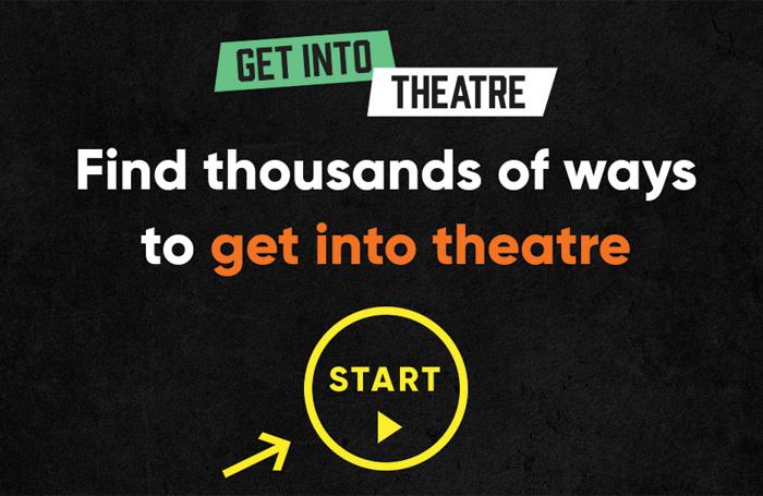 Get Into Theatre website