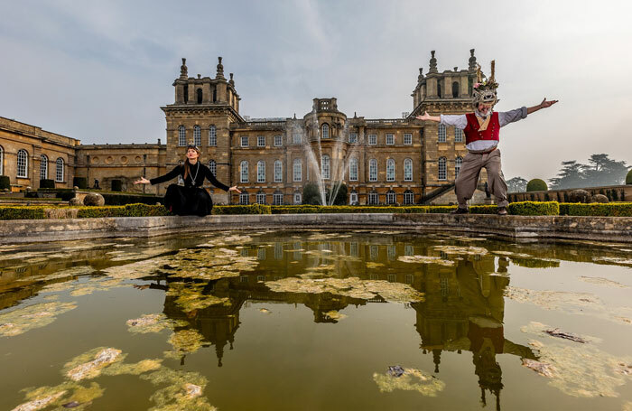 The launch of Shakespeare's Rose Theatre in Blenheim Palace in April 2019. Photo: Charlotte Graham